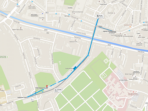 Directions to the Transport Club from the IFI